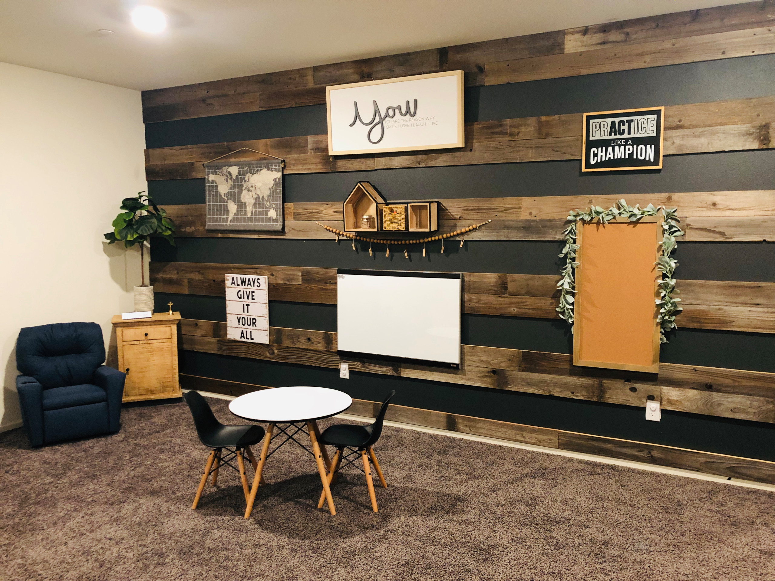 Loft Converted into Homeschool Space