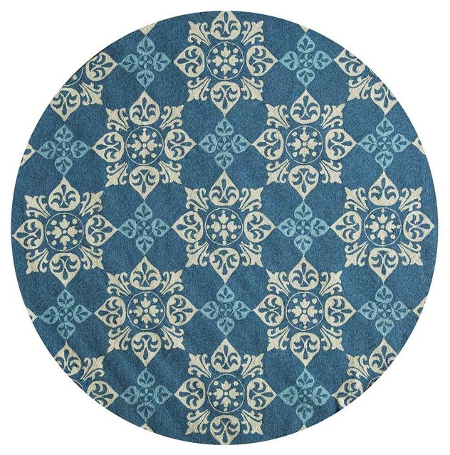 Momeni Rugs Round Area Rug Outdoor Rugs