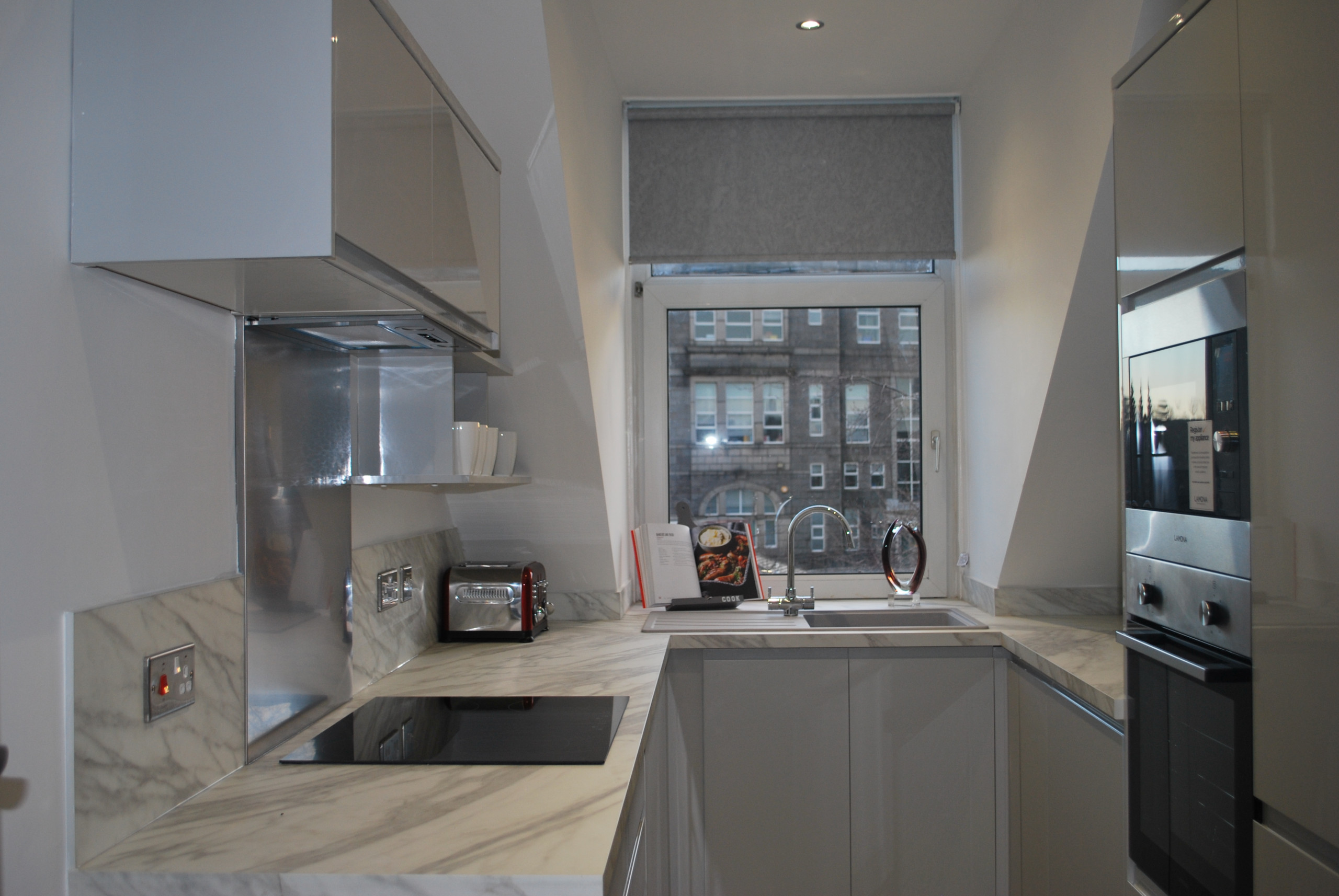 Design and renovation project management of rental property.