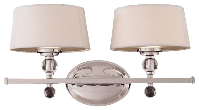 Murren 2 Light Bath Bar Transitional Bathroom Vanity Lighting By Homesquare
