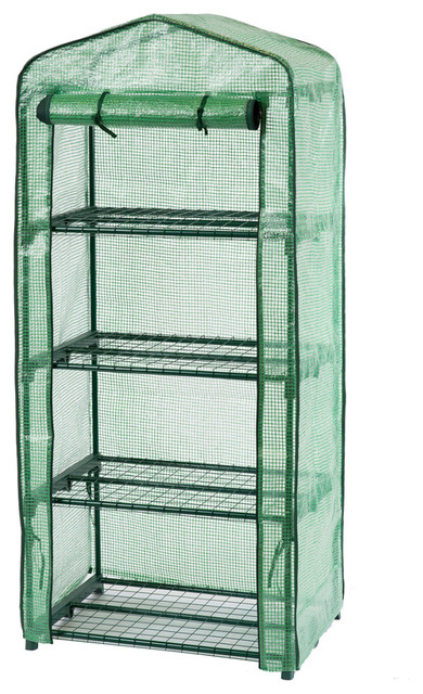 Nature Greenhouse With 4 Shelves, 69x49x160 cm
