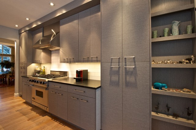 Textured Melamine - Contemporary - Other - by McPhie Cabinetry