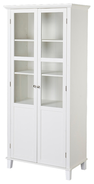 Eleanor 2 Door Storage Cabinet, White