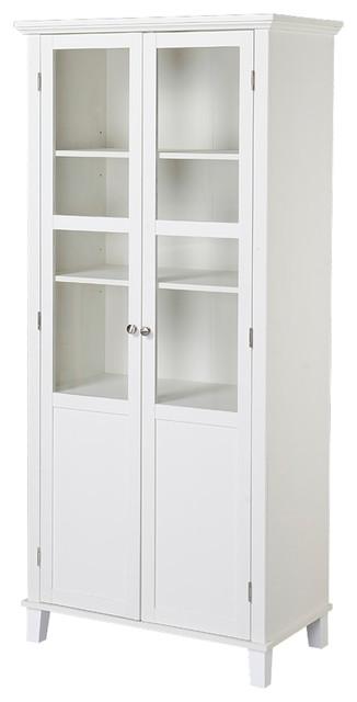 Homestar 2 Door Storage Cabinet - Modern - Pantry Cabinets - by HOMESTAR NORTH AMERICA LLC