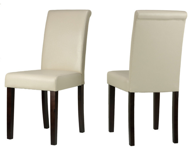 Contemporary Dining Chairs Leather