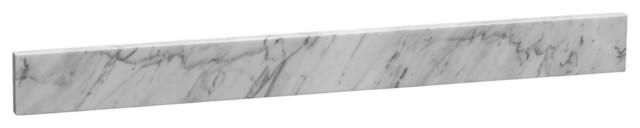 "Ronbow Granite Sidesplash, 21""x3"", White."