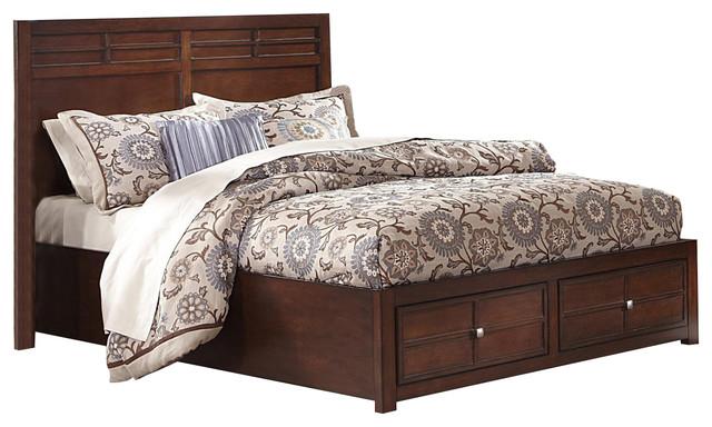 Kensington Queen Low Profile Bed
