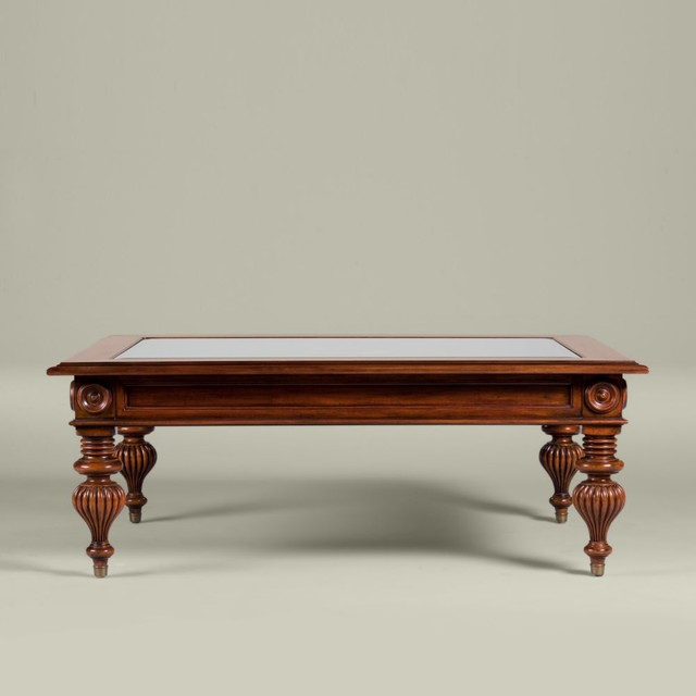 British Clics Windward Coffee Table Traditional Tables By Ethan Allen
