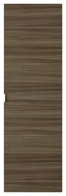 Textures Floating Linen Cabinet Driftwood