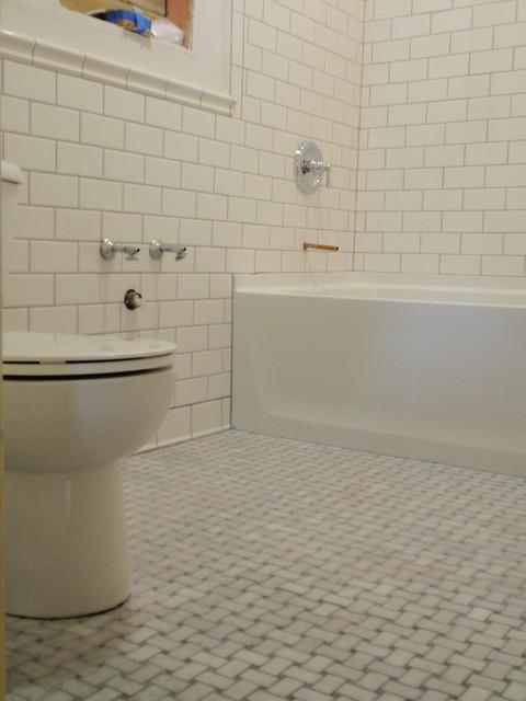 Bathroom Tile Jobs : Bathroom tile job