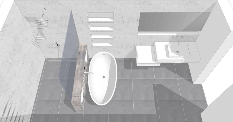 Bad mit freistehender Wanne Bild V