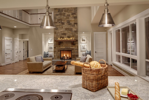 Beautiful Fireplace beautiful fireplace! what type of wood is the mantel and what is