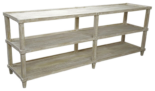 CFC Furniture Reclaimed Lumber Console Casters