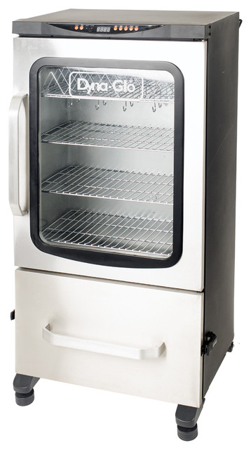 "Two Door Digital Bluetooth Electric Smoker 951 Sq. In. Cooking Space, 40""."