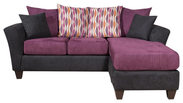 Ludlow Chaise Sofa Transitional Sectional Sofas By