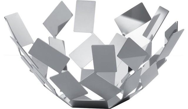 Alessi La Stanza Dello Scirocco Fruit Bowl Stainless Steel