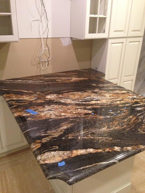 Magma Black Granite : Does magma black granite get sealed