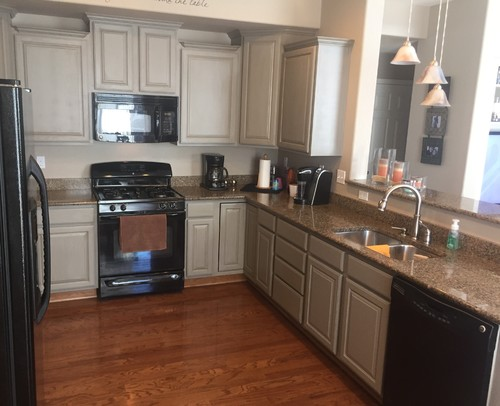 gray painted kitchen cabinets help painting oak cabinets grey 3933