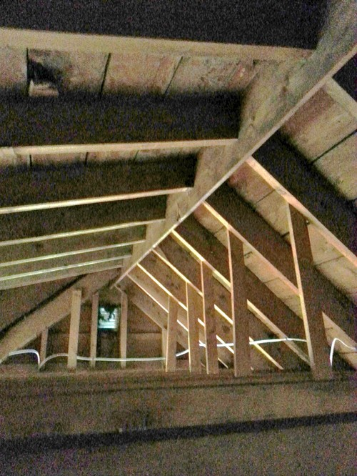 Is A Cathedral Ceiling Possible With Minimal Framing?