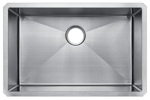 starstar   starstar single bowl undermount 304 stainless steel kitchen sink 28x18x9   kitchen sinks 18 inch kitchen sinks   houzz  rh   houzz com