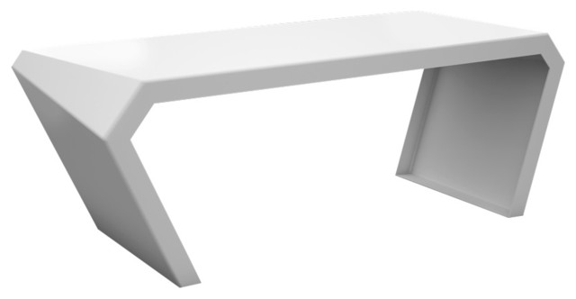 Pac Modern Metal Designer Desk Modern Desks And