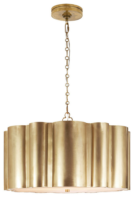 Alexa Hampton Markos Hanging Light Shade Bronze