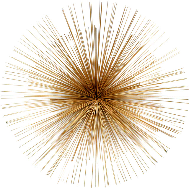 Perfect Starburst Wall Decor, Gold