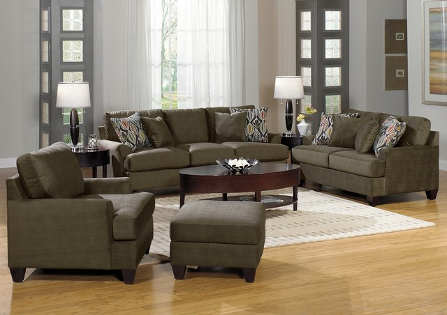 Elliot Sage Living Room Sofa Collection View In Your