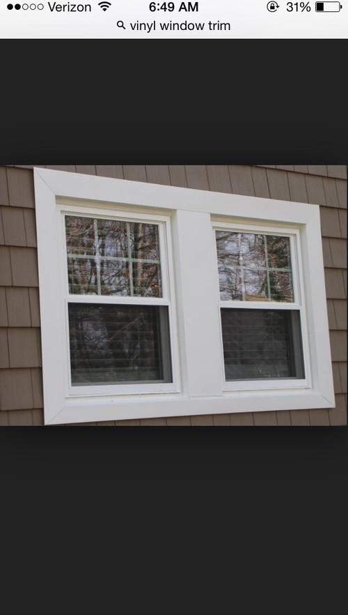 craftsman pvc window trim