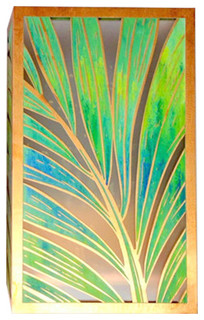 Wall Sconces Tropical : Coconut Palm Sconce 12