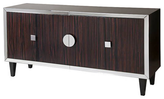 Brighton 4-Door Console - Contemporary - Accent Chests And ...