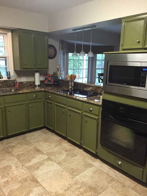 what color should i paint my kitchen cabinets