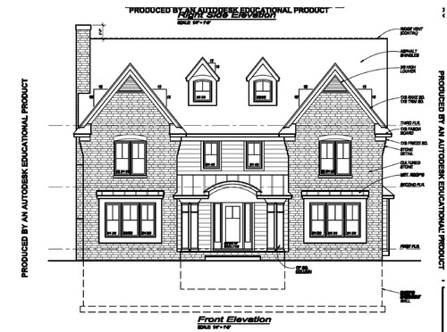 Curved Front Elevation Designs : Arghhh need front porch roof redesign help