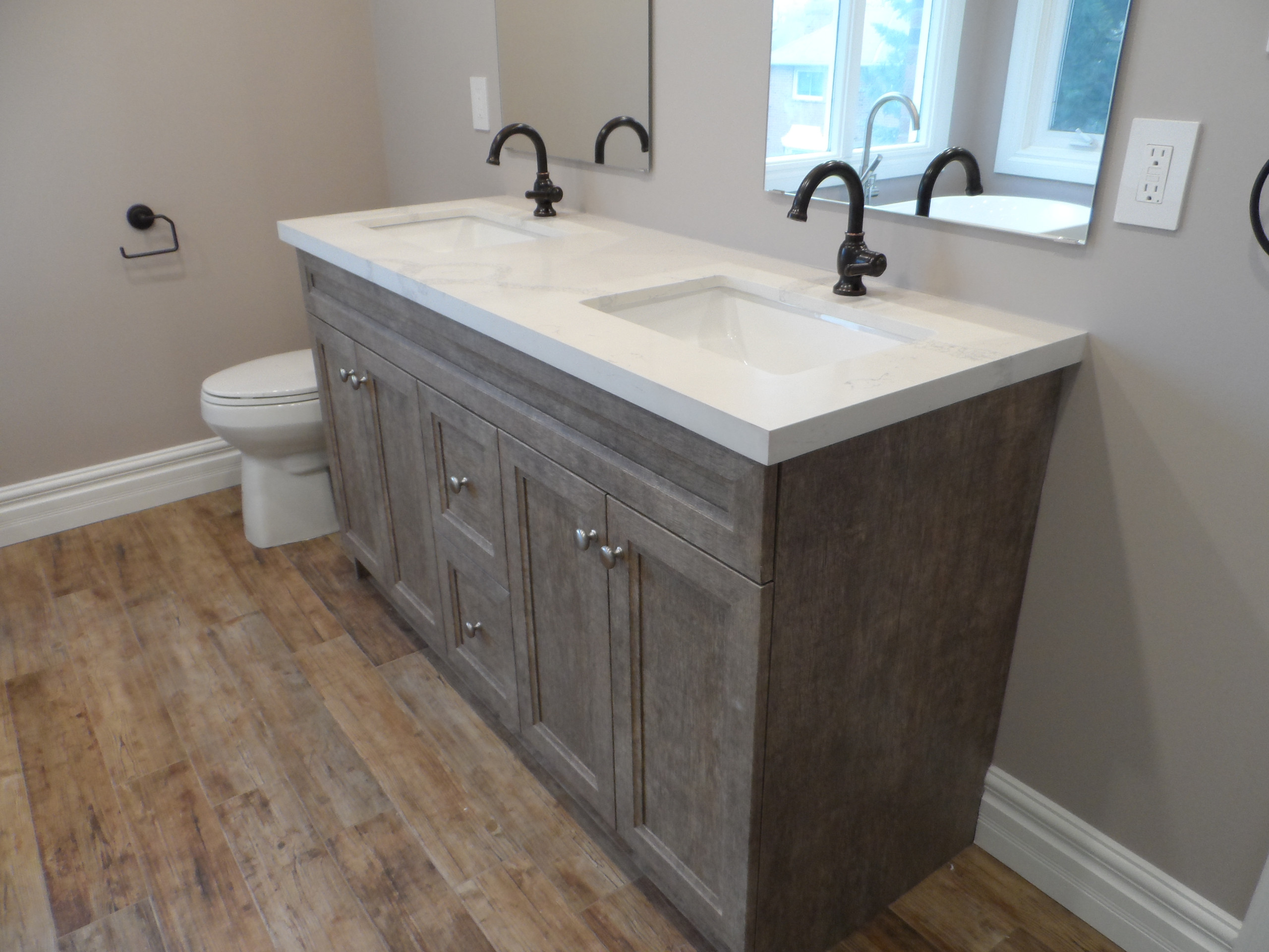 Master Bathroom with Stand alone tub