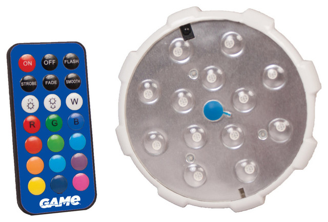 Remote Control Led Color Changing Pool Wall Light.