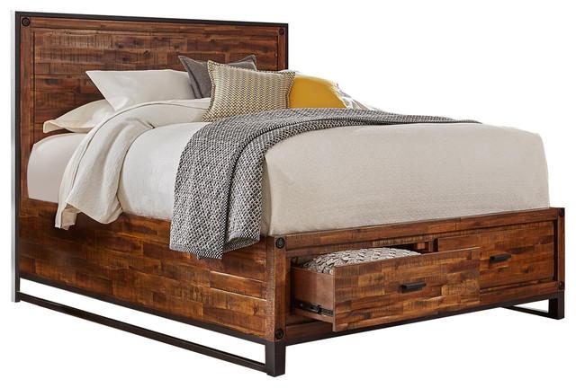 Loftworks Queen Storage Bed.