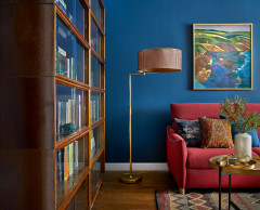 Houzz Tour: A Flat's Colourful Redesign Captures Family Memories