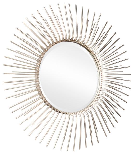 Belstrom Round Oversized Sunburst Wall Mirror.