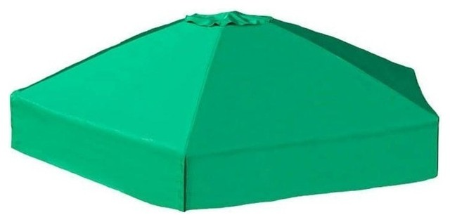 84x96x37 Telescoping Hexagon Sandbox Canopy/cover.