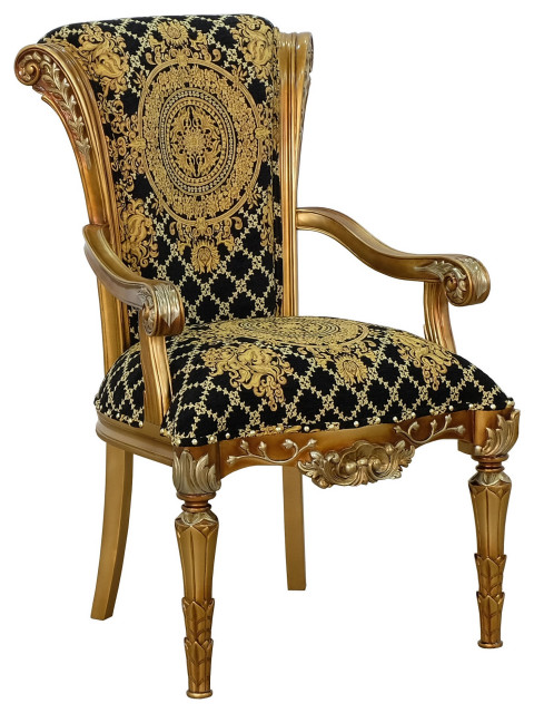 European Furniture Maggiolini Dining Arm Chair Set Of 2 Victorian Dining Chairs By Usa Furniture Warehouse