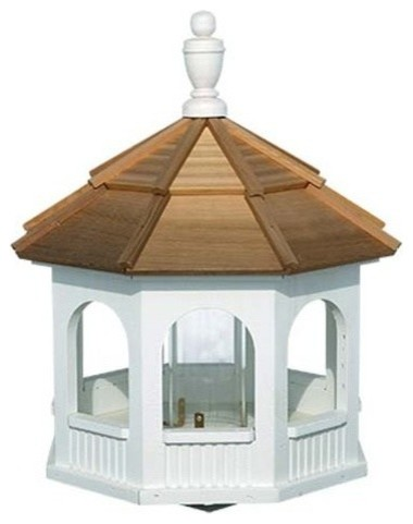 Mayfield Small Painted Gazebo Birdfeeder