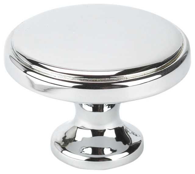 Round Transitional Knob - Transitional - Cabinet And Drawer Knobs - by Topex Design