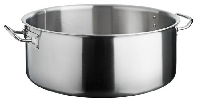 Vega 5-Ply Multi-Layer Material, Stainless, Stock Pot, Medium