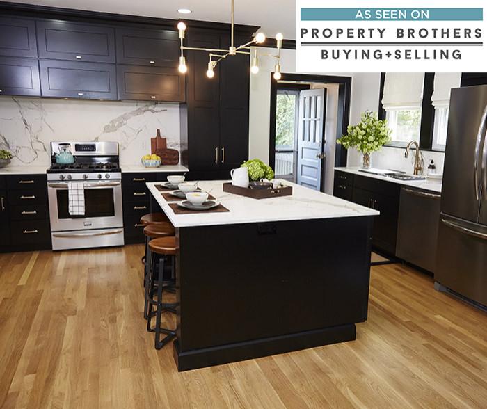 Breman Cabinet with Black Finish - Diamond Cabinetry