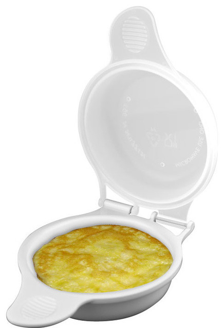 Microwave Egg Cooker By Chef Buddy.