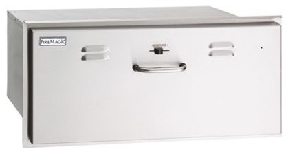 """Stainless Steel Electric Warming Drawer, 31""""."""
