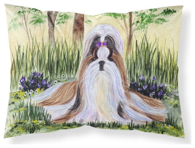 Shih Tzu Moisture Wicking Standard Pillowcase, Large