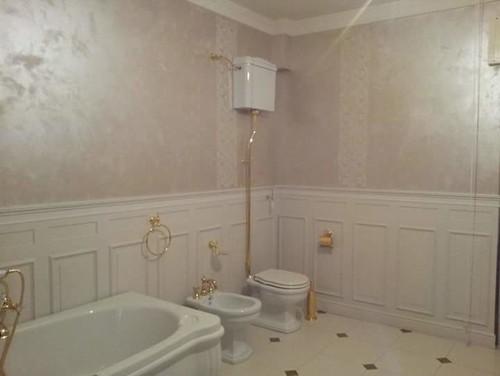 Boiserie bagno - Boiserie in ceramica per bagno ...