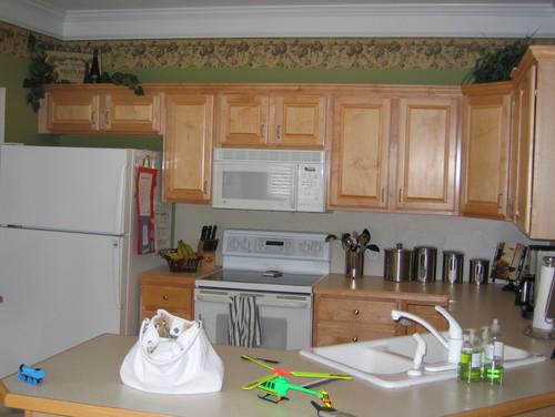 Raising Kitchen Cabinets Higher Gallery