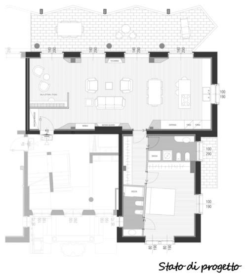 misure soggiorno/cucina - Misure Soggiorno